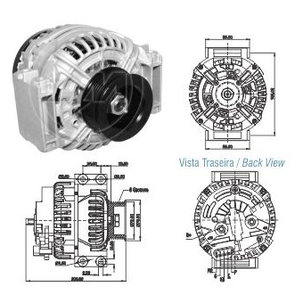 Alternador Zm ALT-9020801
