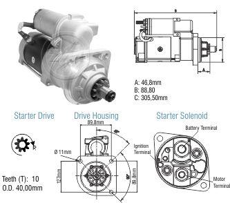 Motor De Partida Zm MP-ZM8029004