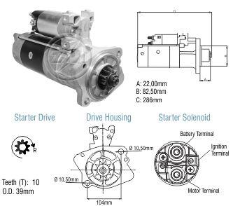 Motor De Partida Zm MP-ZM8089501