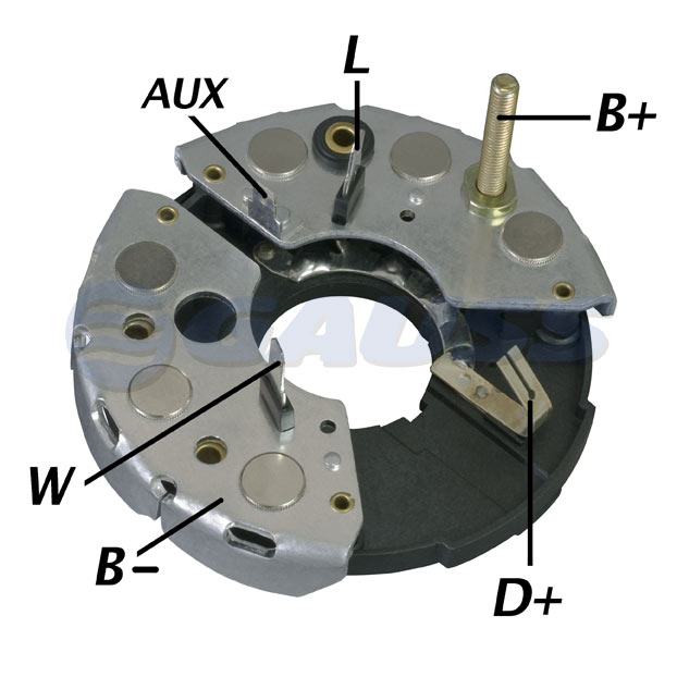 Placa Diodo Gauss PD-GA1012